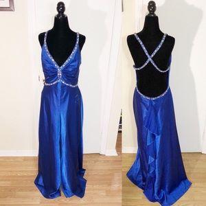 Betsy & Adam Royal Blue Formal/Prom Grown